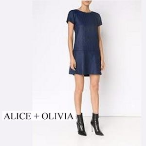 ✨Alice + Olivia | NWT Herringbone Weave Dress✨